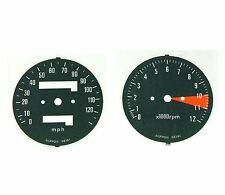 ✰ Speedometer & Tachometer Gauge Decal Set ✰ 1976 Honda CB400F instrument ✰