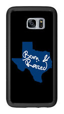 Texas Born And Raised Grey For Samsung Galaxy S7 G930 Case Cover by Atomic Marke