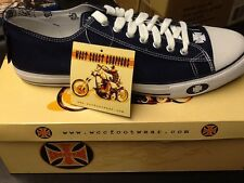 West Coast Chopper Warrior Lo Navy Jesse James Shoes Sz 11  New