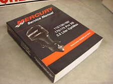 NEW Mercury Service Manual 115/135/150/175/ProXS 2.5  Opti  90-859494R02  4-4-3