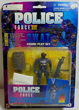 CHAP MEI MILITARY POLICE FORCE NIGHT SHARPSHOOTER w PARACHUTE ACTION FIGURE MOSC