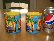 CALIFORNIA TOURIST POSTERS Images, Ceramic Coffee Cups / Mugs,Total of #2