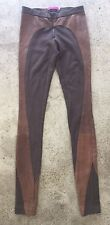 Alice & Olivia Lambskin Leather Leggings Jeggings Women's Sz 0*