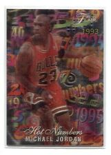 MICHAEL JORDAN 1995-1996 Flair Hot Numbers #4 3D Very Rare
