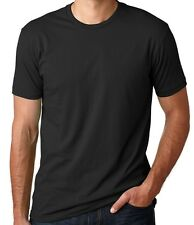 Next Level,Men's T-Shirt -BLACK -Fitted Tee # 3600,Size LARGE only-2 FOR 14.99 .