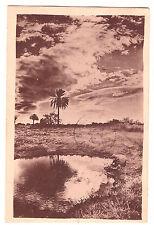 CPA - ALGERIE - AU LEVER DU SOLEIL DANS LE SUD 1930