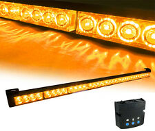 Amber LED Emergency Vehicle Traffic Advisor Warning Strobe Directional Light bar