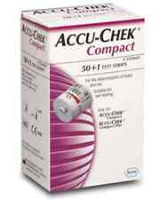 Accu Chek COMPACT Blood Glucose Monitoring ROCHE 1 boxes 51Test Strips Apr-2017