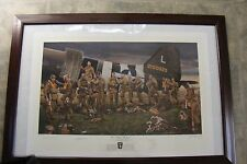 The Filthy Thirteen  signed print by Iskowitz Jake McNiece,Jack Agnew, Cone