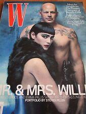 W 07/2009 BRUCE WILLIS & EMMA von STEVEN KLEIN Vanderbilt (Vogue)