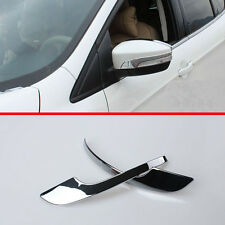 ABS Chrome Side Mirror Cover Trim Ford Kuga Escape 2013 2014 2015 2016