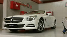 G LGB 1:24 Scale Mercedes SL500 2012 24041 Detailed Welly Diecast Model Car