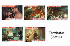 THE TERMINATOR  - SET OF 5 A4 SIZED REPRINT LOBBY POSTERS # 1
