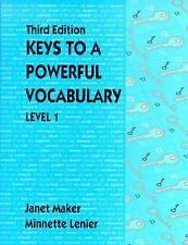 Keys to a Powerful Vocabulary Level 1 (3rd Edition)