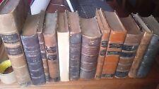 Lot livres anciens bibliothèque Scheinder le Creusot (mines, mécaniques,guerres)