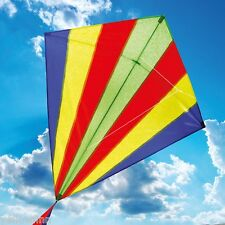 BROOKITE SUNBEAM SINGLE LINE LARGE (110x105cm) CHILDRENS KIDS DIAMOND KITE TOY