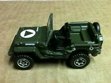 "2009 MATCHBOX MILITARY JEEP WILLYS DIE CAST 2 1/2"" L 1:62"