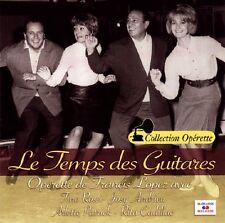 Le Temps des Guitares / Francis LOPEZ / (1 CD)