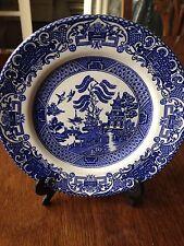 "Washington Pottery English Ironstone 7"" Plate Old Willow Design"