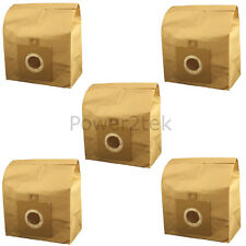 5x H63, H58, H64, U59 Vacuum Cleaner Bags for Hoover TCPW2010 Whirlwind TCP2011