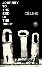 Journey to the End of the Night by Louis-Ferdinand Céline (1983, Paperback)