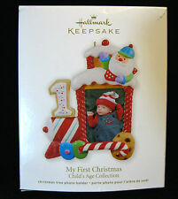 Hallmark Ornament 2012 My First Christmas (Photo Holder) Child's Age Collection