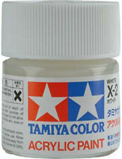 TAMIYA COLOR ACRYLIC X-02 X-2 White MODEL KIT PAINT 10ml NEW