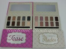 2 pc NEW Beauty Creations Nude / Tease Natural Eyeshadow Palette 10 Colors