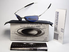 OAKLEY WHISKER SILVER ICE SONNENBRILLE WIRETAP WHISKER INMATE TAPER SQUARE WIRE