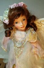 Paradise Galleries Premiere Edition Treasury Collection Angel Porcelain Doll