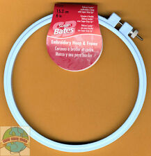 "Susan Bates Cross Stitch Embroidery Hoop ~ Color Plastic Luxite 6"" #143996"