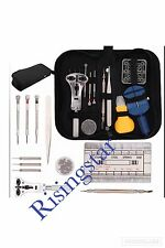 364 Pcs Watchmaker Watch Repair Tool Kit Back Case Opener Remover Spring Pin Bar