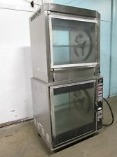 """HENNY PENNY"" H.D. COMMERCIAL DIGITAL DOUBLE STACKED ELECTRIC ROTISSERIE OVEN"