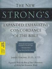 The New Strong's Expanded Exhaustive Concordance of the Bible, Supersaver by...