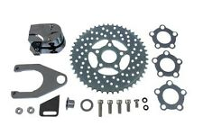 """Chrome Rear 2 Piston Caliper and Disc Kit For use on a 1"""" or 3/4"""" axle"""