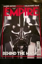 EMPIRE uk JUNE 2005 STAR WARS BEHIND THE MASK - LIMITED EDITION COLLECTOR ISSUE