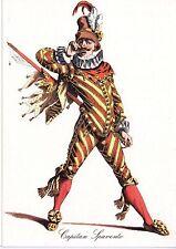 Carte postale illustrée - non circulée - Commedia dell'arte - Capitan Spavento