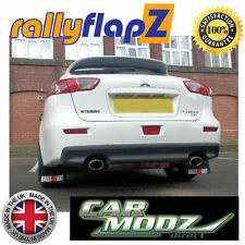 Mud Flaps to fit MITSUBISHI LANCER RALLIART SPORTBACK (2008 on) RallyflapZ
