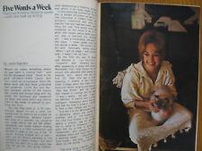 Dec-1971 TV Guide(KRISTINA  HOLLAND/HOPE LANGE/HENRY SLESAR/NICHOLS/JAMES GARNER