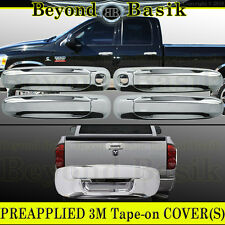 2002-2008 RAM 1500 2003-2009 2500 Chrome 4DR Door Handle Tailgate COVERS 2KH