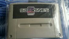 Super Nes sd2snes sd 2 snes Everdrive cart w/ 8 gig sd card
