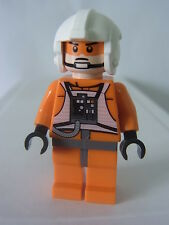 sw354 Lego Star Wars 7958 - Zev Senesca Plain Helmet Minifigure - New