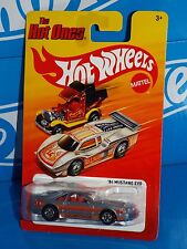 Hot Wheels 2012 The Hot Ones Series '84 Mustang SVO Mtflk Silver w/ BWs