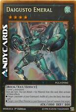 INGLESE Daigusto Emeral ☻ Oro ☻ PGL3 EN065 ☻ YUGIOH ANDYCARDS