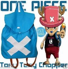 Anime One Piece Tony Tony Chopper Backpack School Shoulder Bag Cosplay
