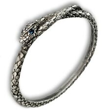 NEW SWEET ROMANCE ART DECO STYLE SERPENT SNAKE BANGLE BRACELET  ~~ USA MADE~~