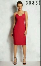 BEAUTIFUL COAST * SANDREEN * RASPBERRY DRESS SIZE 16 NEW WITH TAGS