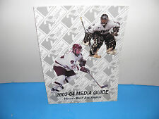 NCAA Hockey East 2003-04 Media Guide 20 Year Anniversary Issue