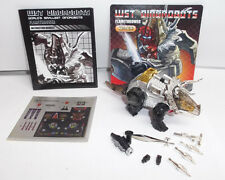 Transformers Justitoys WST Dinobot G1 FLAMETHROWER SLAG From Vintage Collection