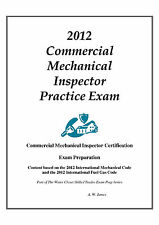 2012 ICC Commercial Mech Inspector Practice Exam on USB Flash Drive